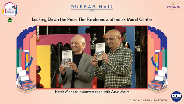 Jaipur Literature Fest: Harsh Manders book speaks of migrant workers sufferings during lockdown