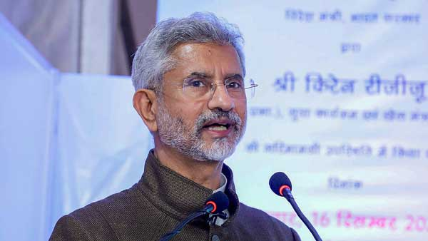 Bodies dealing with human rights should realise, terror can't be justified: Jaishankar