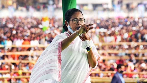 Contest only from Nandigram: BJP challenges Mamata