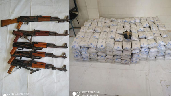 Sri Lankan boat associated with Pak drug network intercepted off Kerala coast with 300 kg heroin, arms