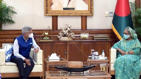 Jaishankar calls on Bangladesh PM Hasina, praises her sagacity, leadership