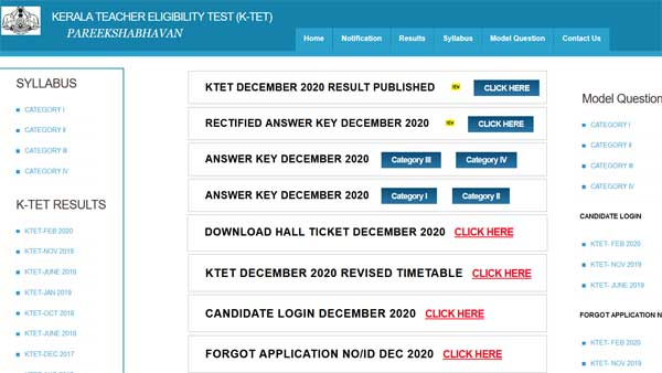 Kerala TET result 2020 declared: Here is how you check