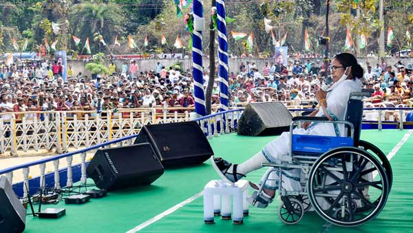 I'm like a tiger, won't bow my head, says Mamata Banerjee at Amlasuli rally