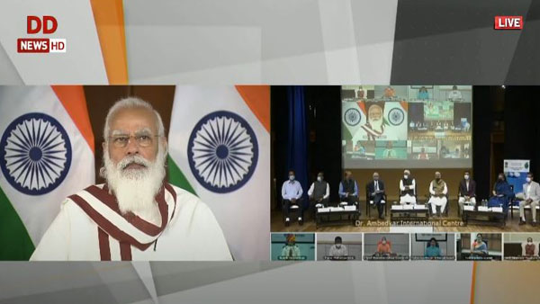 PM Modi launches historic Jal Shakti Abhiyan