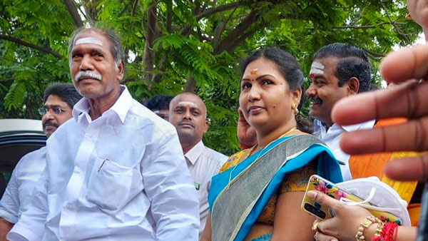 Puducherry CM N Rangasamy seeks funds from Centre for welfare projects