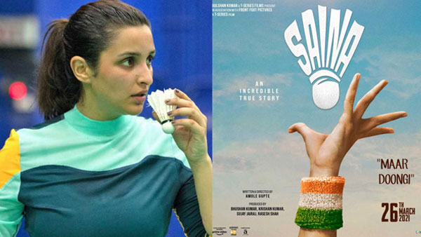 Saina Nehwal biopic starring Parineeti Chopra to release in March