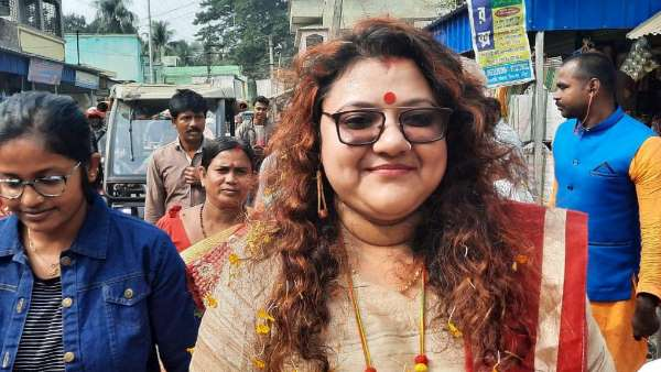 TMC fields BJP MP Saumitra Khans wife Sujata Mondal from Arambagh constituency