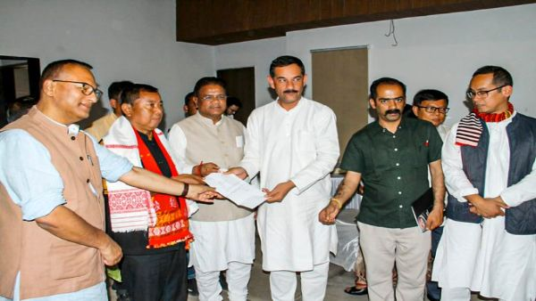 Denied poll ticket, Assam BJP minister joins Congress