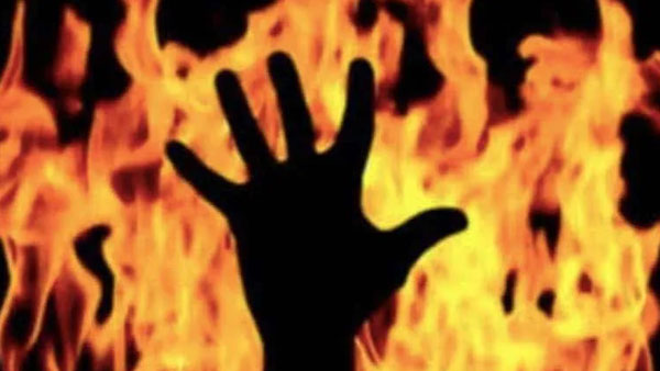 Kolkata: 22-year-old takes father out for dinner, gets him drunk, sets him on fire