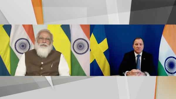 'Climate change a priority'; Provided 'Made in India' vaccines to 50 countries: PM Modi tells Swedish PM