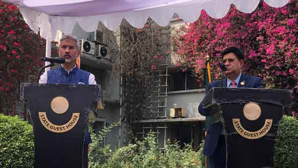 Jaishankar discusses way to boost bilateral relations in Dhaka as part of Neighbourhood First policy