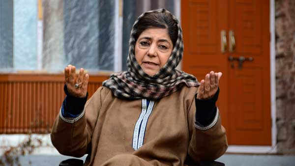 Mehbooba Mufti appeals to PM Modi to release all political detainees as COVID-19 threat persists