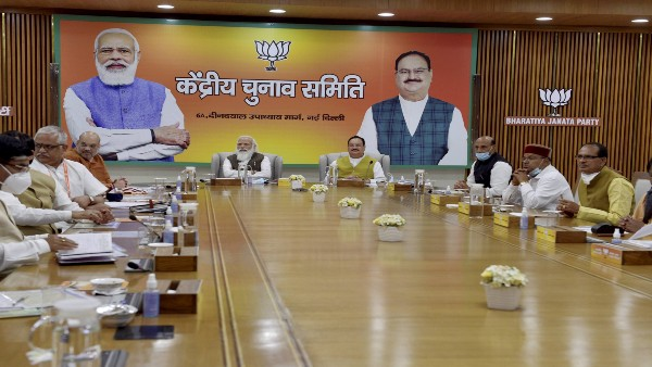 PM Modi holds BJP election committee meeting to finalise candidates for Assam, Bengal