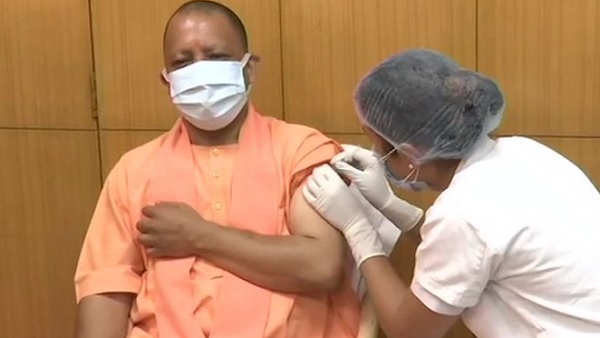 Uttar Pradesh CM Yogi Adityanath receives first dose of COVID-19 vaccine