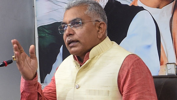 EC issues notice to Dilip Ghosh for his there will be Sitalkuchi-like killings in several places remarks