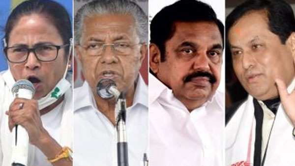 Times Now-CVoter poll 2021 for Tamil Nadu, West Bengal, Kerala and Puducherry