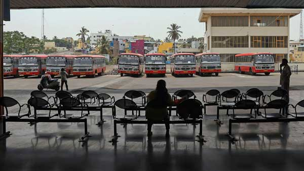 KSRTC workers strike in Karnataka enters 9th day, bus services hit