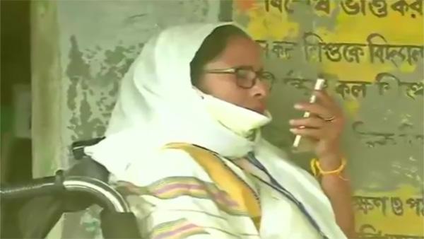 Mamata dials Bengal Governor from Nandigram, says anything may happen