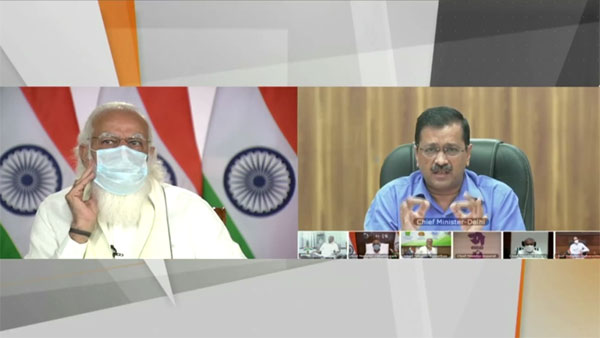 You broke a very important protocol: PM Modi pulls Kejriwal after meeting went live