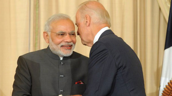 US determined to support India in COVID fight, ensure supply of vaccine raw materials: Biden to PM Modi