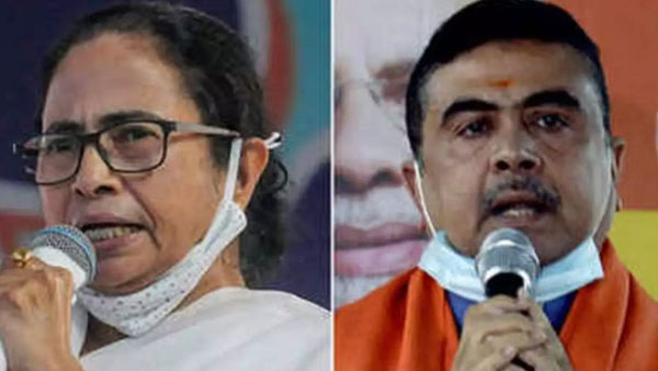 Aunty must show restraint: Suvendu Adhikari's dig at Mamata