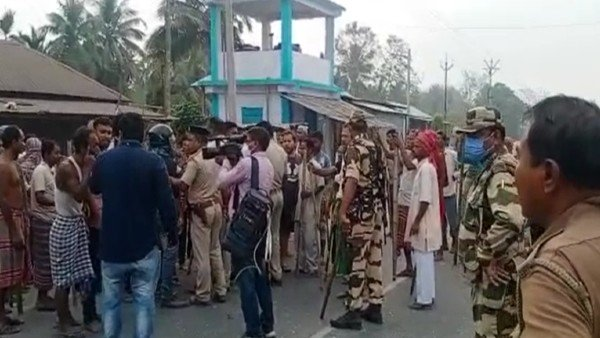 4 shot dead as violent clashes erupt between TMC, BJP workers in Bengal