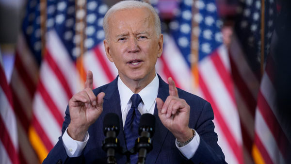 America is ready for a take-off: Biden tells Congress