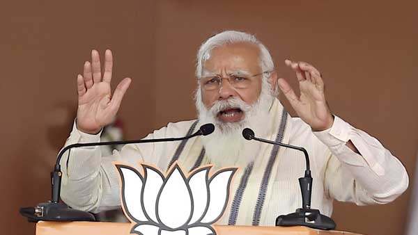 PM Modi lists out 7 sins by LDF, UDF, says Aiyappa devotees were welcomed with lathis, not flowers