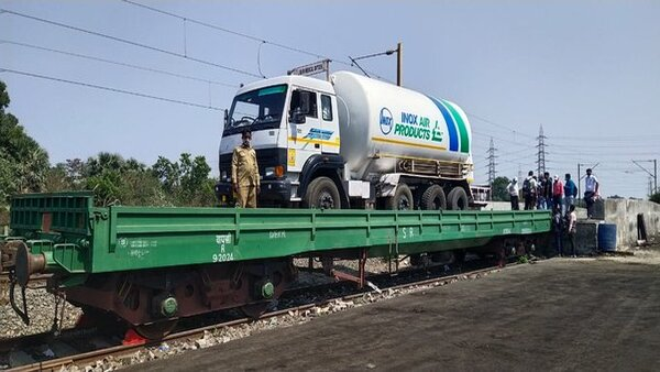 Delivered 13,319 tonnes of liquid medical oxygen to states so far: Railways