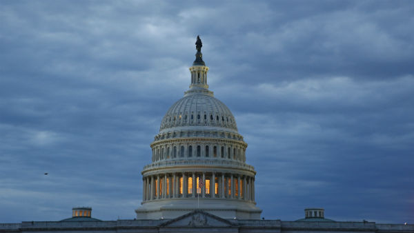 <strong>US Capitol under lockdown after car rams barricade injuring two cops; suspect shot</strong>