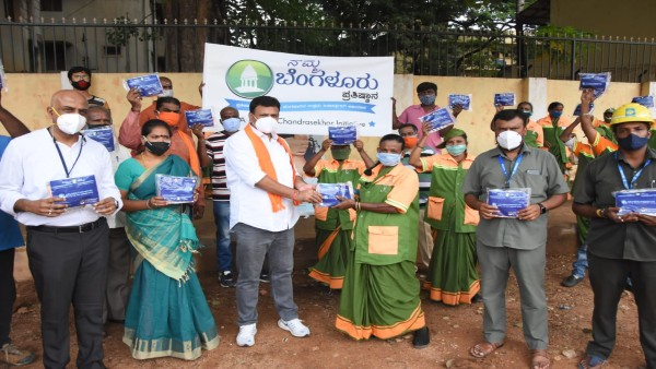 Namma Bengaluru Foundation: Rajeev Chandrasekhar launches next phase of #BengaluruFightsCorona