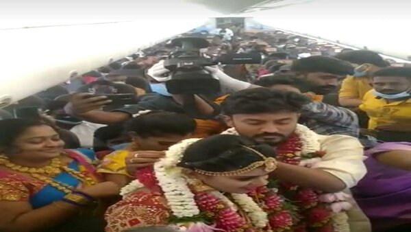 Marriage in the Sky: Madurai couple ties knot mid-air to avoid COVID-19 restrictions