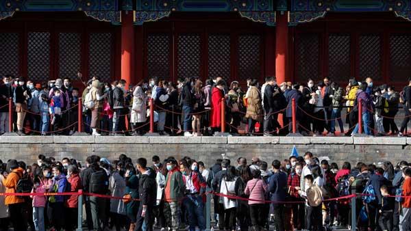 China's population growth failing closer to zero