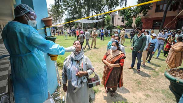 With 39,305 new Covid-19 cases, Karnataka pushes Maharashtra to 2nd spot in India's Covid tally