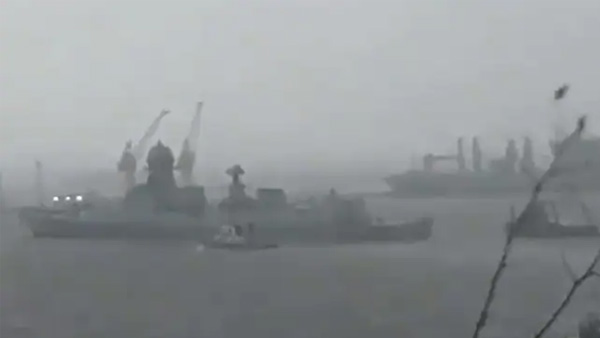 Cyclone Tauktae: Navy rescues 60 people out of 400 onboard two barges off the Mumbai coast