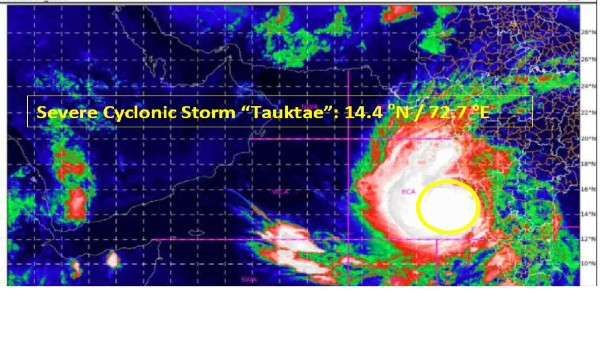Cyclone Tauktae intensifies into 'very severe cyclonic storm', to cross Gujarat coast by May 18: IMD