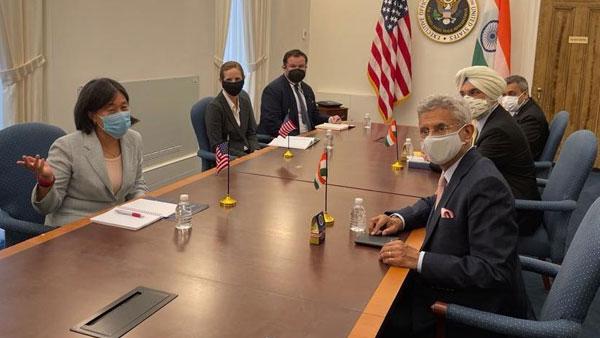 Jaishankar in US holds talks with lawmakers, discusses vaccines, Quad