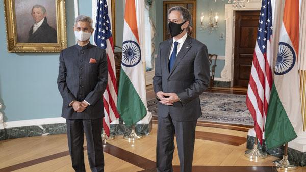 During meet with Antony Blinken, Jaishankar thanks US for strong support