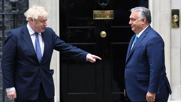 UK: Johnson hosts Orban to discuss 'a post-Brexit period'