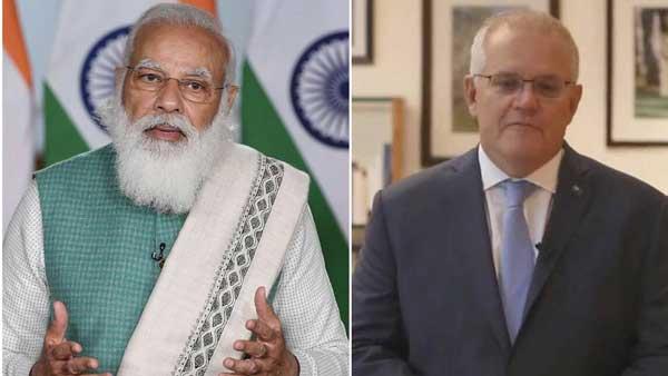 PM Modi dials Morrison, thanks Australia for support in fight against COVID-19