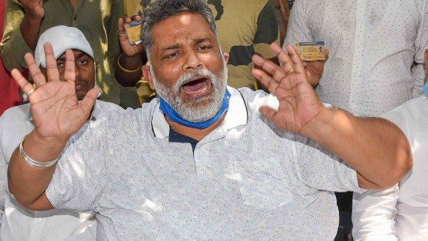 JAP chief Pappu Yadav held for flouting lockdown rules in Bihar