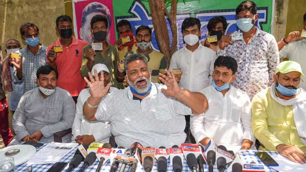 FIR filed after Pappu Yadav raids parked ambulances purchased from Rudy's MP fund