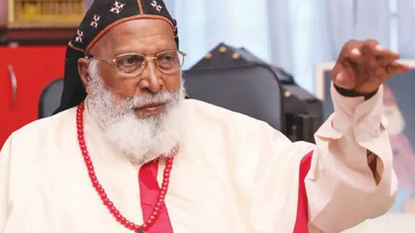 PM Modi condoles death of Philipose Mar Chrysostom