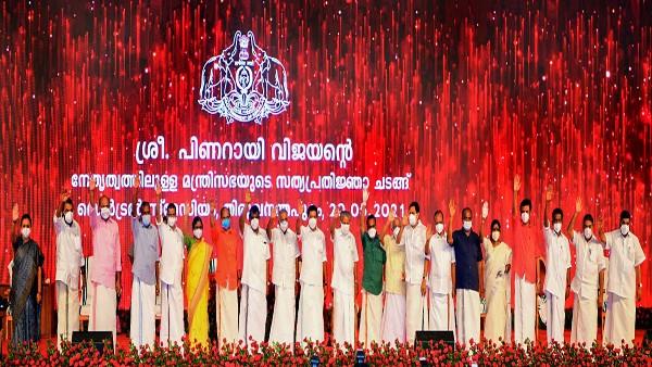 Pinarayi Vijayan retains Home & IT; Veena George is new Kerala Health Minister, Shailaja Teacher's successor