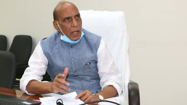 Rajnath lauds services for Cyclone Tauktae, COVID-19 efforts