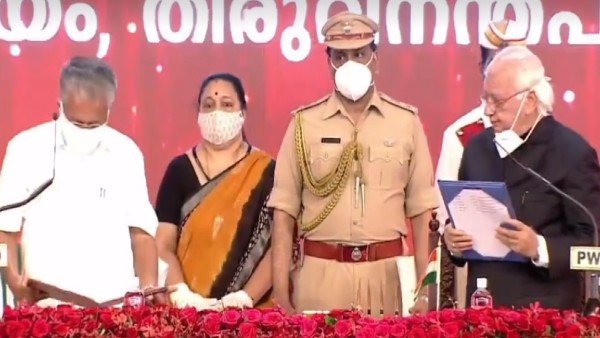 Pinarayi Vijayan takes oath as Kerala Chief Minister for second time; 20 ministers inducted in his cabinet
