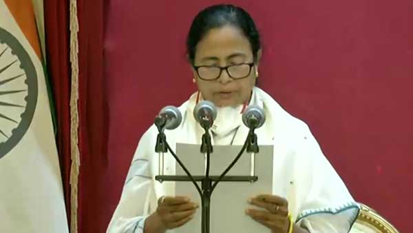 Mamata Banerjee takes oath as West Bengal CM for third consecutive time