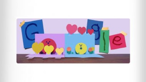 Mother's Day 2021: Google Doodle wishes mothers all around the world with adorable pop-up card
