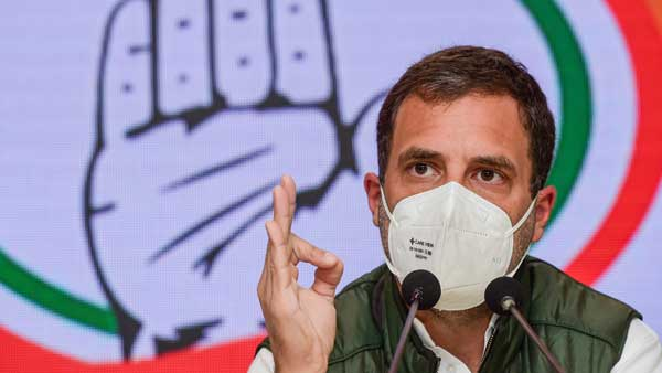 Country needs breath, not PM's residence: Rahul Gandhi
