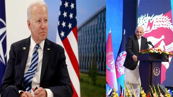 Biden to meet Afghan leader Ghani amid pullout